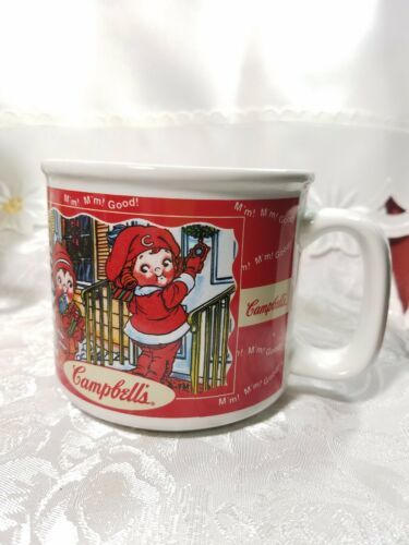 2000 Campbell Soup Harvest Seasons Mug Cup Autumn Winter Comfort Food Fall
