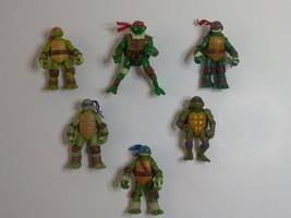 TMNT Figures Lot of 6 Teenage Mutant Ninja Turtles (1992, 2005, 2012) - $30.25