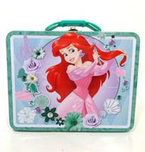 Disneys The Little Mermaid Metal School Lunch Box Collectable - $12.64
