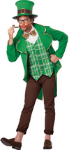 QUALITY MEN'S GREEN TUXEDO SUIT LEPRECHAUN COSTUME MD - $59.95