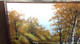 "Large 61""x 49"" Original Walter Sherwood Landscape Oil Painting Signed Artist Art image 2"
