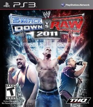 WWE SmackDown vs. Raw 2011 - Playstation 3 [video game] - $9.00