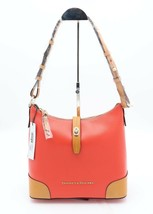 NWT Dooney & Bourke Claremont Red Leather Hobo Shoulder Bag New - $178.00