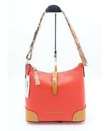 NWT Dooney & Bourke Claremont Red Leather Hobo Shoulder Bag New - $178.00