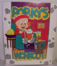 "PORKY PIG ""Porky's Workout"" 1992 Vintage Poster  22""x 28"" New in shrink ... - $10.66"