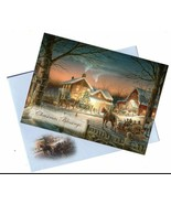 Christmas Blessings Merry Christmas Holiday Seasons Vintage Greeting Car... - $13.99