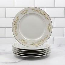 International Silver Co 326 Springtime Japan Set of 6 Bread Butter Salad Plate  - $23.74