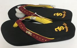 USC Southern California Trojans Women's Flip Flops Sandals Shoes Many Sizes image 6