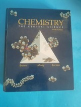 """Theodore L. Brown """"Chemistry The Central Science"""", 9th Edition - $18.69"""