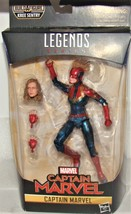 Marvel Captain Marvel 6 Legends Captain Marvel in Costume Collectors Figure - $25.07