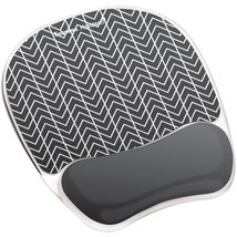Fellowes Photo Gel Computer Mouse Pad Wrist Rest With Microban - $25.69