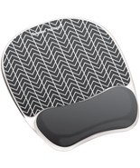 Fellowes Photo Gel Computer Mouse Pad Wrist Rest With Microban - £18.48 GBP