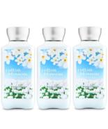 Bath & Body Works Cotton Blossom Body Lotion 8 fl oz / 236 ml Set Of 3 B... - $28.49