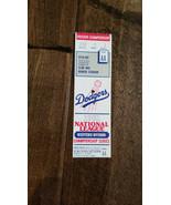1981 Nlds Championnat Séries Jeu 3 Billet Astros Dodgers Dodger Stade Club - $29.94