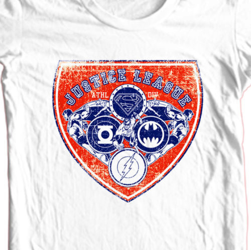Justice league superhero dc comics batman superman for sale graphic tshirt