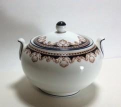 Wedgwood Medici Sugar Bowl with Lid R4588 - $39.58
