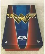 HOT TOYS Movie Masterpiece Figure 1/6 Scale BATMAN vs SUPER MAN WONDER W... - $372.24