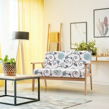 Modern Fabric Loveseat Sofa Couch Upholstered 2-Seat Armchair - new (cy) - $204.99