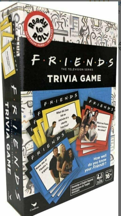 Primary image for NEW SEALED 2020 Ready to Roll NBC Friends The Trivia Game