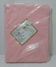 Pink Twin Flat Sheet Sears Perma-Prest Muslin New Old Stock Vintage - $14.50
