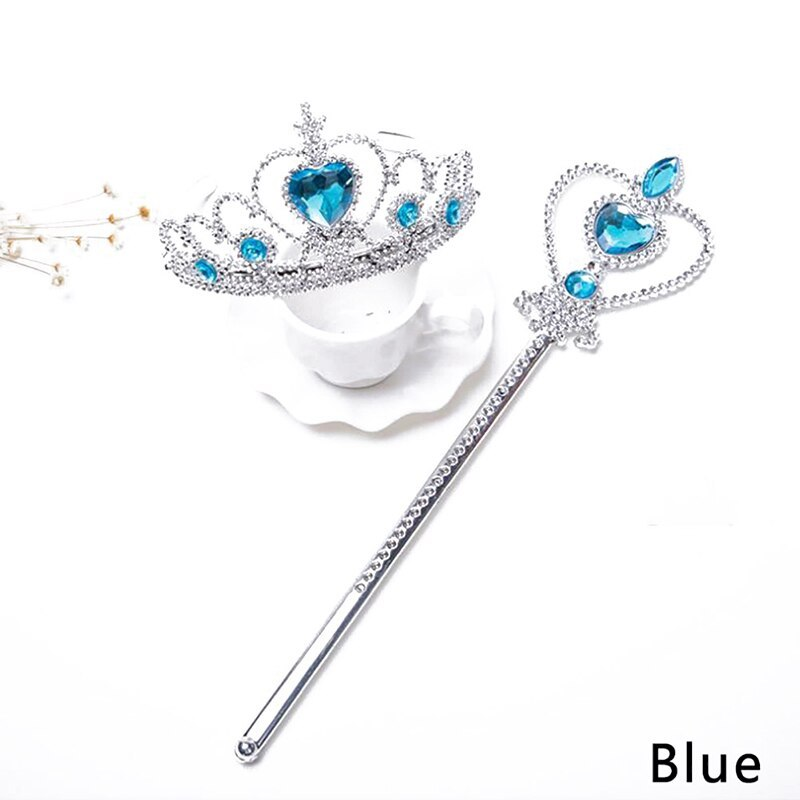 Primary image for New Fashion Party Girls Princess Tiara Elsa Accessories Children 2019 Crowns Els