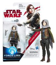Star Wars Force Link The Last Jedi Jyn Erso (Jedha) 3.75-Inch Figure NIP - $4.88
