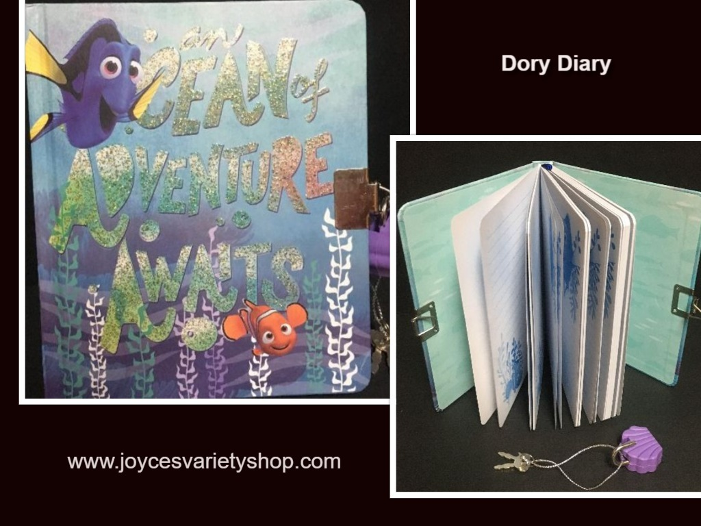 Dory diary web collage