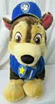 BABW Build A Bear LARGE Paw Patrol Chase Plush Police Pup Dog Outfit Voicebox  - $34.64