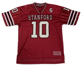 Stanford Cardinal Vintage Colosseum Football Jersey Men's Large Red  - $29.69