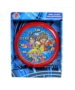 BAKUGAN BATTLE BRAWLERS | Analog Wall Clock | Battery Operated | NEW IN BOX - $21.73