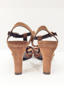 Via Spiga Pre-owned Brown Suede Strappy Italian Sandals, Sz. 7.5 MSRP $225 image 6