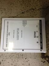 2000 Dodge TRUCK RAM 1500 2500 3500 Standard Cab Parts Catalog Manual OEM New - $44.50
