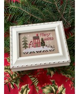 Merry Wishes Treasure Box Kit christmas cross stitch kit Shepherd's Bush... - $16.00