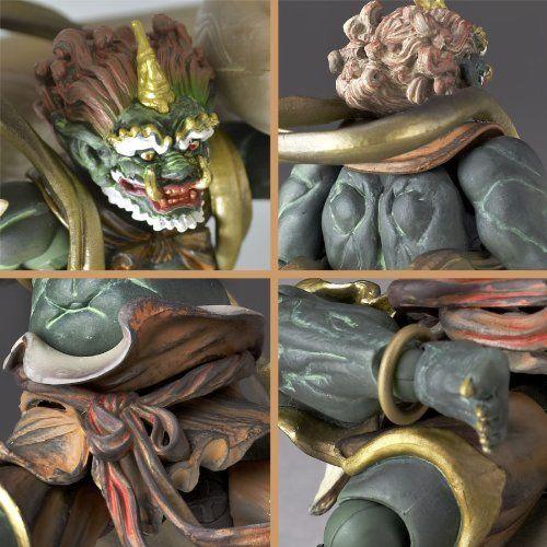NEW Revoltech TAKEYA BUDDHIST STATUE COLLECTION No.009 FUJIN Figure KAIYODO F//S