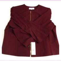 Calvin Klein Women's Bell Sleeve Front Zipper Jacket Blazer - $22.74