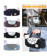 New Outdoor Travel Baby Strollers Storage Bag Organizer Pram Buggy Pushcha - £22.08 GBP