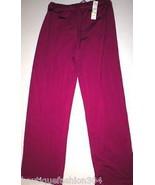 NWT $80 Womens DKNY Pants Lounge Purple P XS S M Yoga Pilates Drawstring... - $32.00