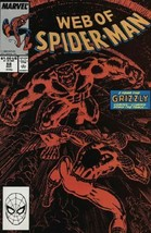 The Web of Spider-Man #58 VG 1989 Marvel Acts of Vengeance Comic Book - $0.97
