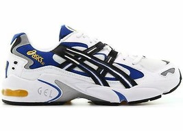Mens Asics Gel Kayano 5 OG White Black Blue 1191A099-101 - $149.99