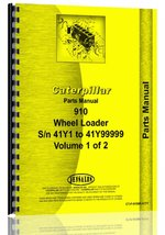 Caterpillar 910 Wheel Loader OEM Parts Manual [Paperback] [Jan 01, 1980]... - $167.30