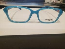 NEW VOGUE VO2966 Eyeglasses Frame 48-15-130 2314 AQUA BLUE PERFECT AUTHE... - $39.59
