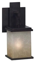 Kenroy Home 03372 Casual 1 Light Sconce,11 Inch Height, 5 Inch Width, 6 Inch Ext - $43.24