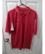 Evernham Motorsports NASCAR Holloway Men's XL Red White Polo Golf Shirt - $15.00