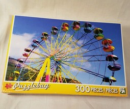 Puzzlebug Colorful Big Ferris Wheel at the Fair 300 Pieces - Stocking St... - $6.80