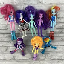 "Lot of 8 My Little Pony Equestria Dolls 5 9"" Dolls and 3 4.5"" Dolls - $24.05"