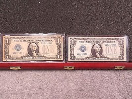 1928A and 1928B $1 SILVER CERTIFICATES -DECENT SPECIMANS- W/FREE SHIP - $49.01