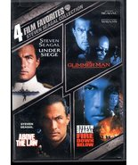 Steven Seagal Collection: 4 Film Favorites [2 Discs] DVD  - $10.00
