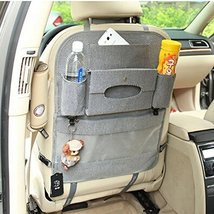 PANDA SUPERSTORE Auto Supplies Car Seat Back Organizer Multi-Function Storage Ba