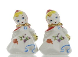 "Hull Little Red Riding Hood 5"" Range Salt and Pepper Shaker Set BBB"