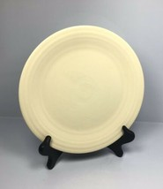"Vintage FIESTAWARE 9.5"" Pale Yellow- GENUINE fiesta HLCo USA - Round Plate - $23.70"